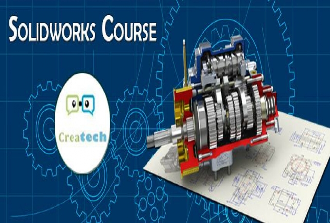 give you a full course in design using solidworks