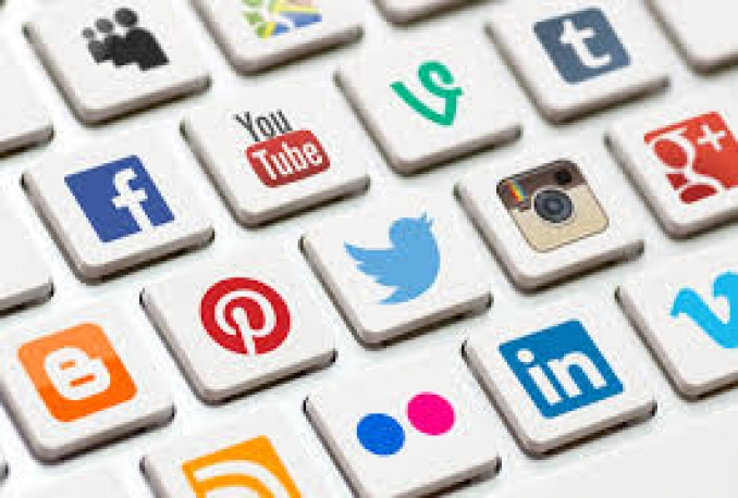 manege your account in any social media for