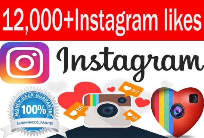 add 12,000 Instagram Video Views OR likes