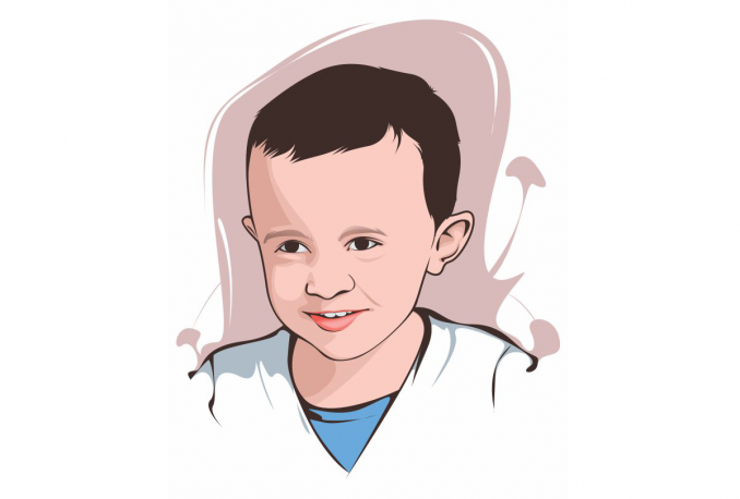 draw a UNIQUE cartoon of your photo