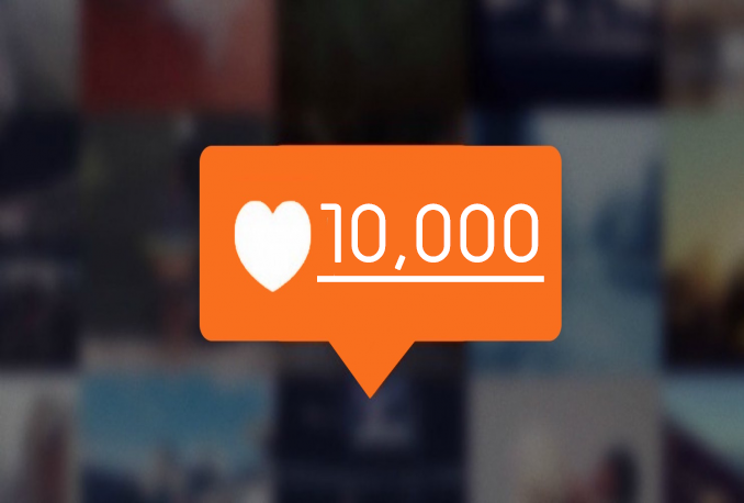Give you 10,000+ Real Instagram Likes to your Photo