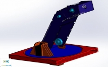 Design 3D project using solidworks.
